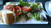 Caprese Salad with Beecher's cheese