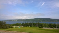 View across the Bras d'Or