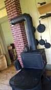Cast Iron Cookstove