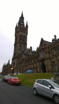 Uni of Glasgow Clock Tower