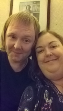 Adhamh and Mandy selfie