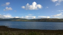 Views over Loch Fyne.
