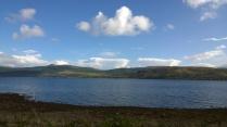 Views over Loch Fyne.