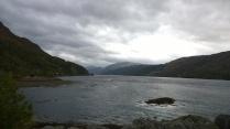 View down Loch Duich