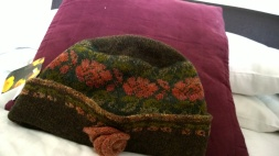 Love wool hat.