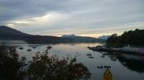 Last sunrise in Skye