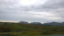The mountains are everywhere in Skye.