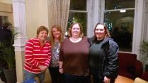 Angela, Sinead, Me and Julie