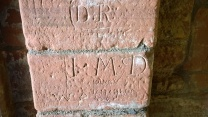 19th century graffitti.