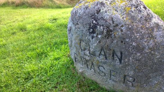 Clan Fraser memorial stone