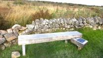 Bench with Gaidhlig inscription