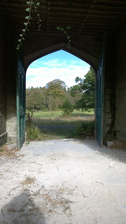 Stable doors at Dunmore Park