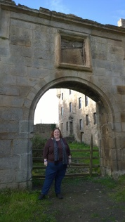 Me at Lallybroch