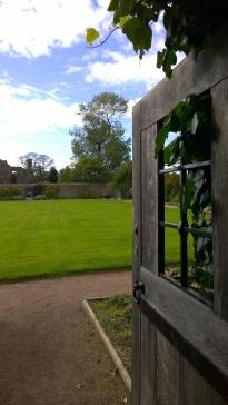 Doorway to walled garden.