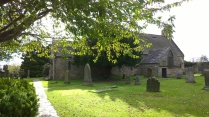 Churchyard at the parish church.