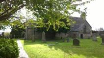 Churchyard at the parish church.