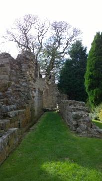 Castle ruins.