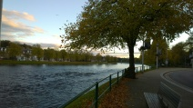 Beside the River Ness.