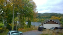 Our last morning's view of the loch.
