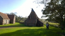 Preston Mill appears to have been a model for Hagrid's Hut in Harry Potter