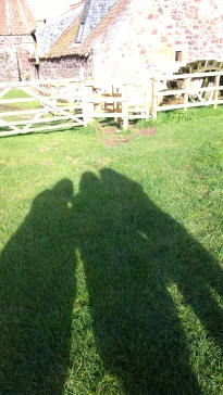 Who doesn't love shadow selfies?
