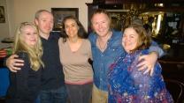 Deb, Gillebride, Candida, Adhamh and me