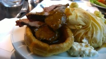 Roast and Yorkshire Pudding