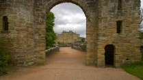 Culzean Castle through the entry tower