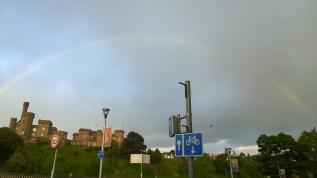 Rainbow is a good sign